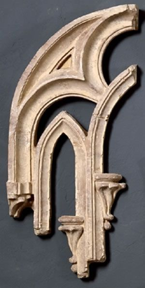 17 x 38 Tracery Fragment B  Architectural Pieces  home decor  Pinterest