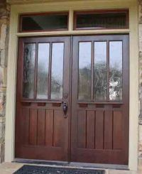 17 Best ideas about Craftsman Style Front Doors on ...
