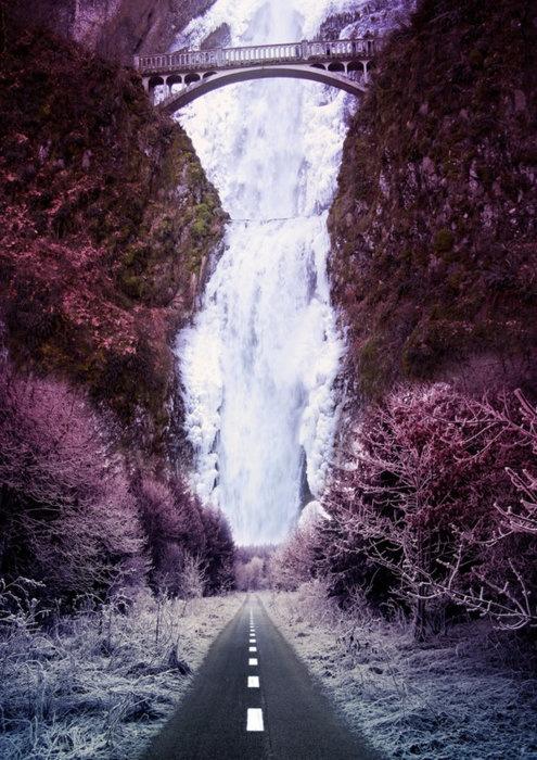 Fall Scenes Wallpaper Frozen Waterfall Oregon Http Www Metacafe Com Watch Yt