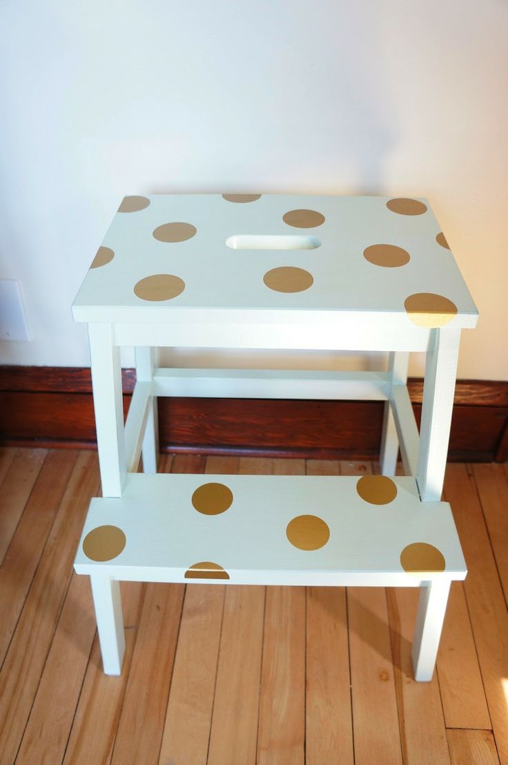 ikea stool hack  Ikea Hack Ikea Bekvam Step Stool DIY