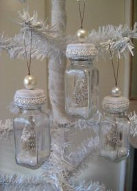 DIY Shabby Chic Bottle Ornaments from old salt and pepper ...