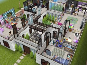 sims freeplay houses mansion designs floor layout story layouts plans play cool mansions room tour ps4