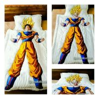 The Only One in the World: Super Saiyan Son Goku Comforter ...