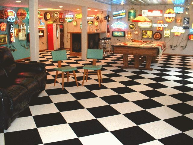Checkered flag Carpet tiles and White carpet on Pinterest