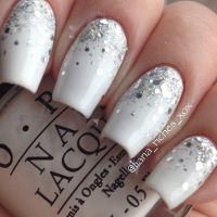 25+ best ideas about White nail art on Pinterest | Gold ...