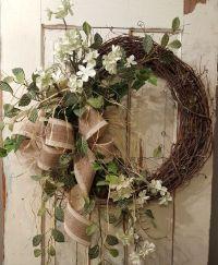 25+ best ideas about Outdoor wreaths on Pinterest | Door ...