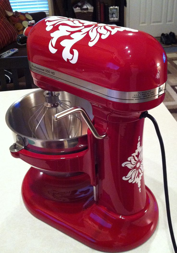 red kitchen aid mixer best camp thinking of painting my