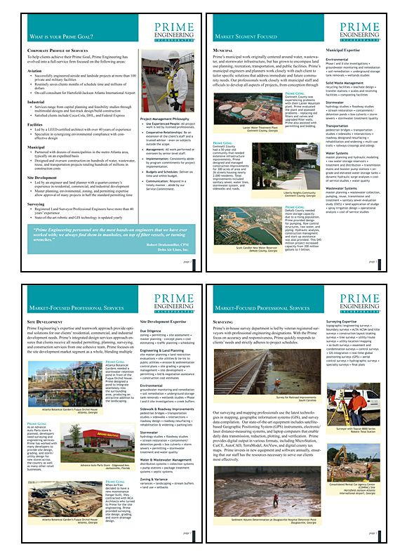 Prime Engineering Statement Of Qualifications Writing Layout And Design Template Pinterest