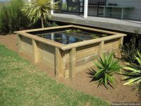Gardens, Ponds and Above ground pond on Pinterest