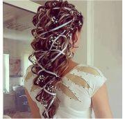 ideas ribbon hairstyle