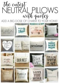 Best 20+ Quote pillow ideas on Pinterest | Pillow case ...
