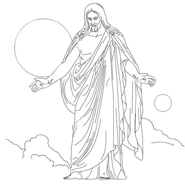 1000+ ideas about Jesus Coloring Pages on Pinterest