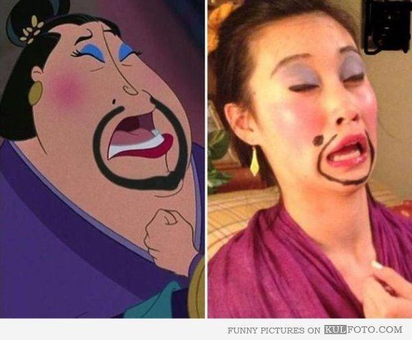 mulan funies Look alike Fat lady from Mulan Funny
