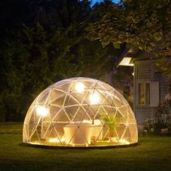 Living Room Designer Tool Small Setup Garden Geodesic Dome: Comes With Summer Shade Cover And/or ...