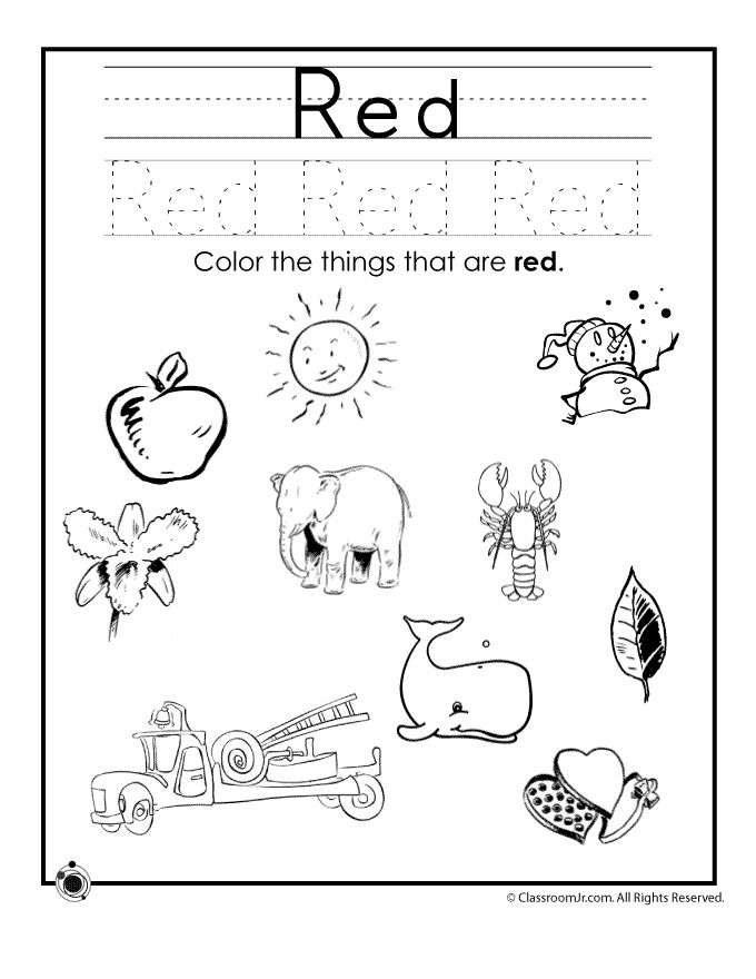 25+ best ideas about Color Red Activities on Pinterest