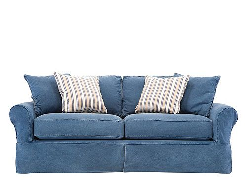 grey leather queen sleeper sofa la z boy burton blue+jean+sofas | ... sofas