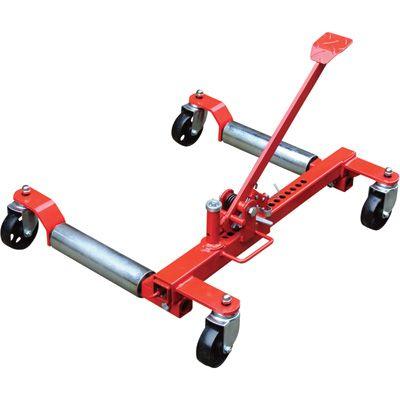 Ironton HeavyDuty Mechanical Wheel Dolly  1250Lb Lift
