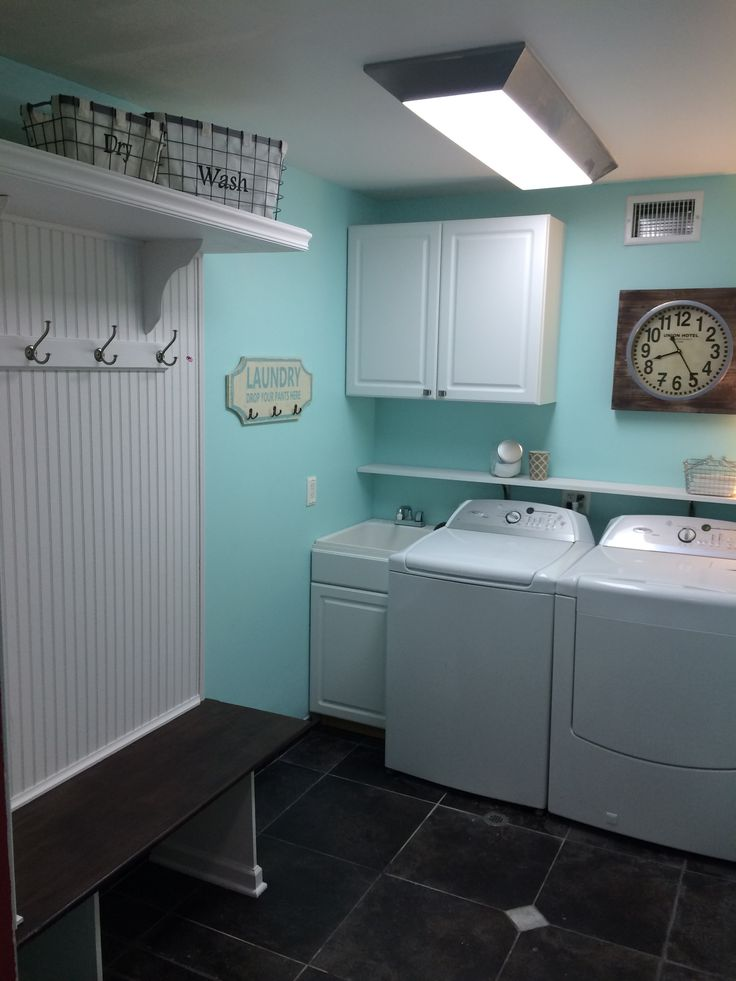 Mud Room Remodel Tame Teal From Sherwin Williams For