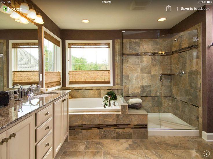 5 piece master bath remodel  Bathroom  Pinterest  Bath