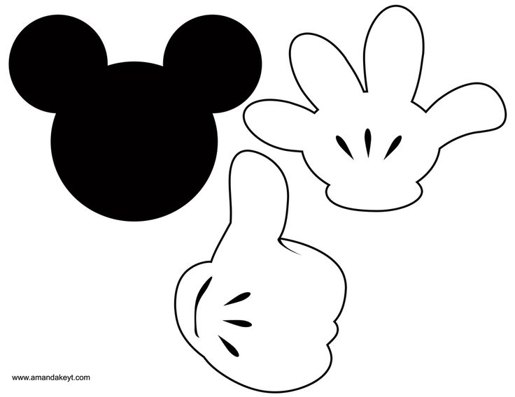Instant Download Mickey Mouse & Friends Clubhouse Inspired