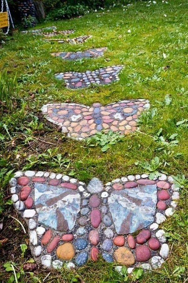 25 Best Ideas About Stepping Stones For Garden On Pinterest