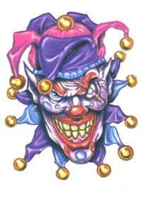 1000+ ideas about Jester Tattoo on Pinterest | Clown ...