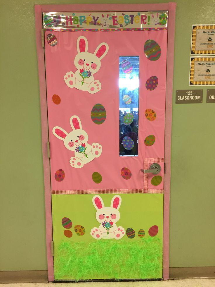 Easter classroom door decoration