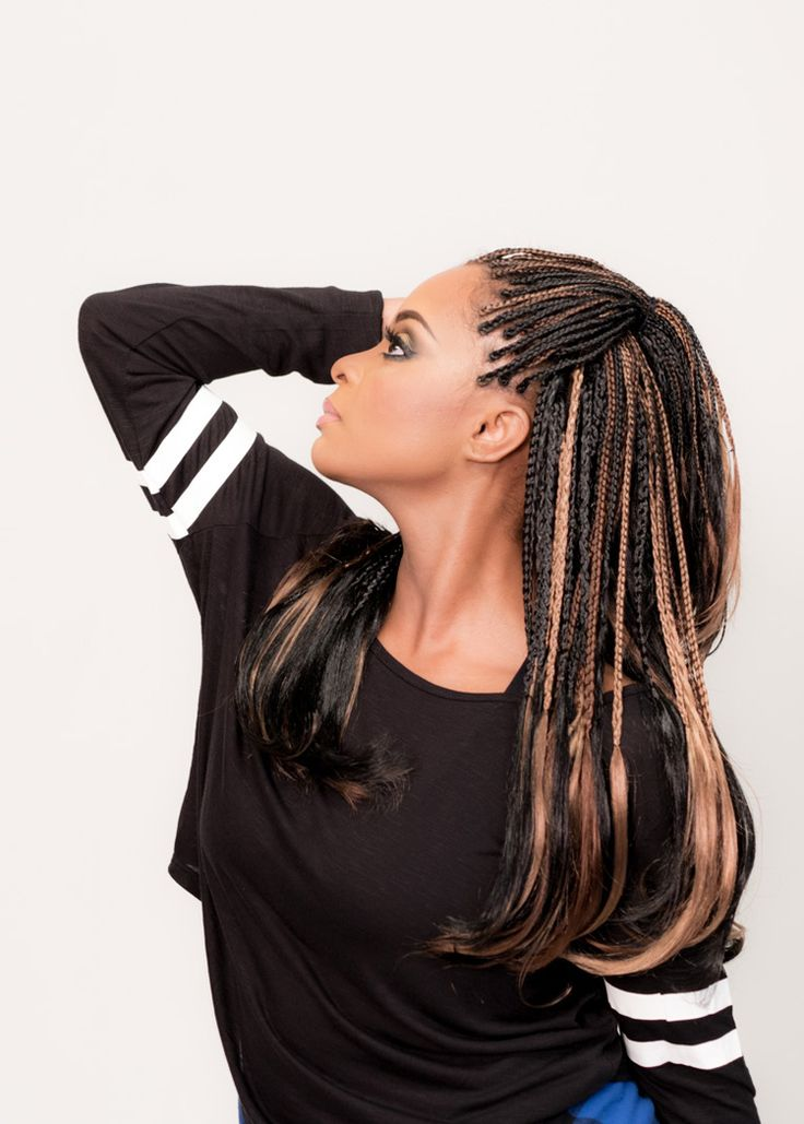 97 best images about Microbraids on Pinterest