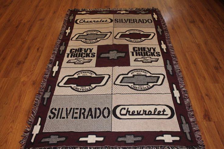Chevrolet Throw Blanket 45x70 Silverado Chevy Trucks