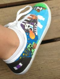 17 Best ideas about Minecraft Shoes on Pinterest