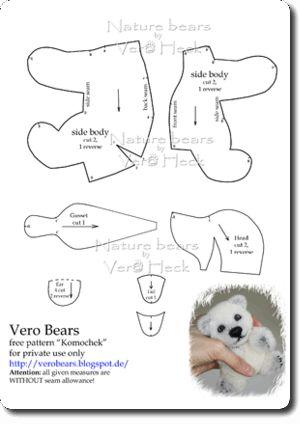 278 best images about beren patroon on Pinterest