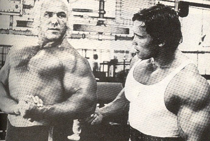 Superstar Billy Graham Amp Arnold Schwarzenegger Wrestling