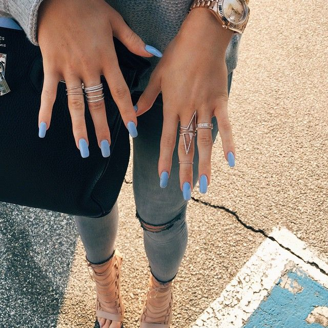 Get the look: Kylie Jenner – Shop our Pave Crystal Deep V Rings, to get Kylie Jenner's look! Available in gold and silver.