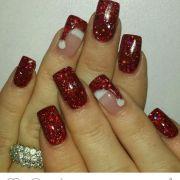 ideas holiday nails