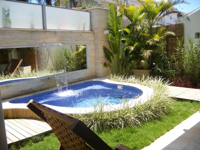 133 Best Images About Small Swimming Pools On Pinterest Small