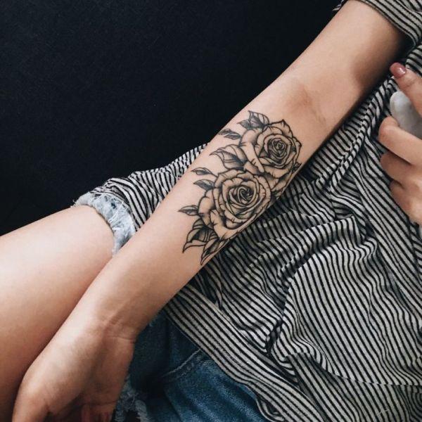 20 Inner Forearm Henna Flower Tattoos Ideas And Designs