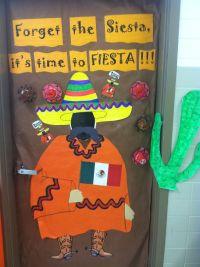 Forget the siesta, it's time to Fiesta Classroom Door ...