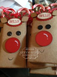 1000+ ideas about Christmas Treat Bags on Pinterest
