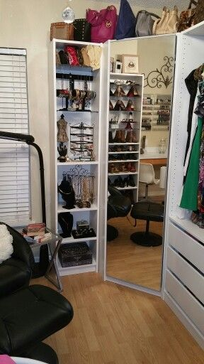Ikea Billy bookcase addition to the Pax wardrobe system