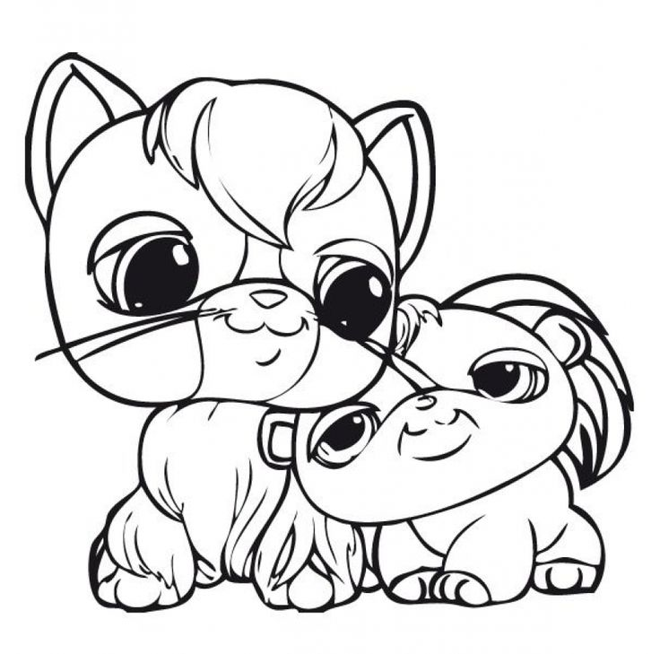 92 best images about Lps coloring pages on Pinterest