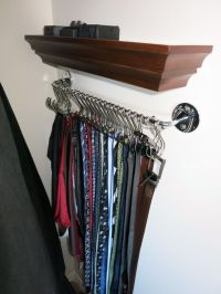 94 best images about Tie Storage Ideas on Pinterest | Belt ...