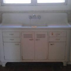 Old Kitchen Sink With Drainboard Backsplash Ideas Mounted Double Drain Board Farm | Vintage Single ...