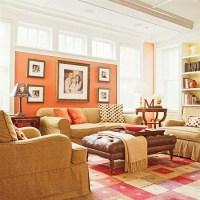 Coral living room | design, decor & ideas | Pinterest ...