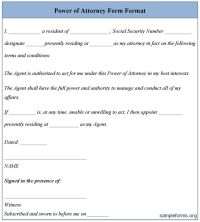 17 Best ideas about Power Of Attorney Form on Pinterest ...
