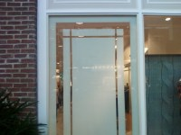 Window film with graphic design | Frosted Film - Designs ...