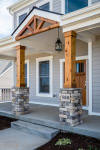 25+ best ideas about Stone Columns on Pinterest
