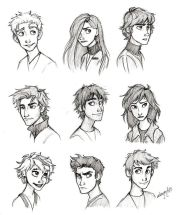 cartoon hair ideas