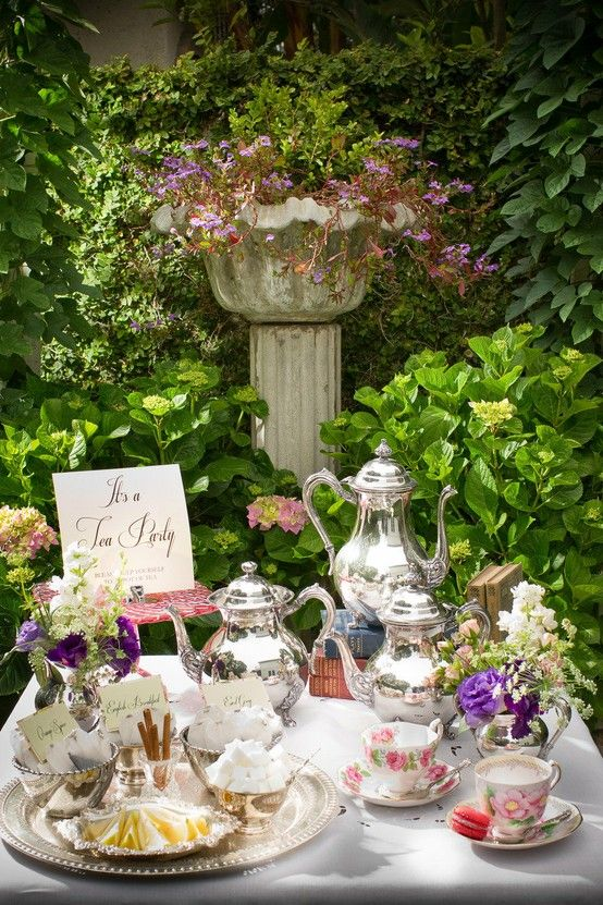 589 Best Images About Tea Party Themes Or Set Ups On Pinterest