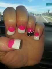 crown cut flare nails. duckfeet