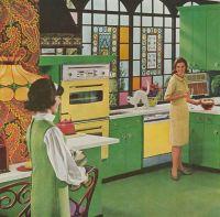 Best 25+ 1960s Kitchen ideas on Pinterest | 1960s decor ...